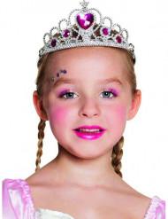 Diadema principessa di cuore bambina