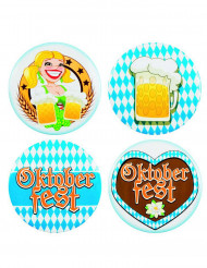 4 Badges Okotberfest