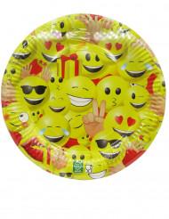 10 piatti in cartone Emoji™