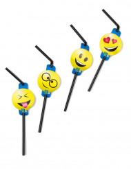 8 cannucce emoticons Imoji™