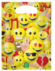 6 sacchetti di plastica per feste Imoji™