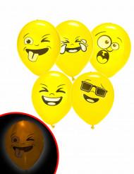 5 Palloncini LED Illoms™ Imoji™