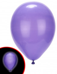5 palloncini LED viola Illooms™