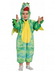 Costume dragone verde bambino