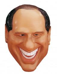 Maschera caricatura Berlusconi adulto