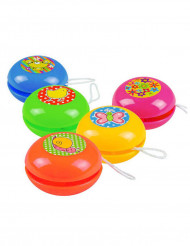 5 Mini Yo-yo colorati