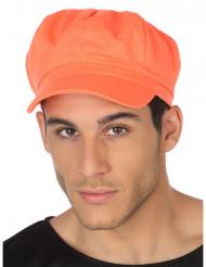 Cappello arancione fluo adulto