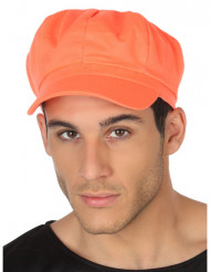 Cappello arancione fluo adulta