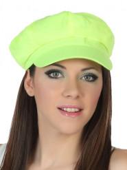 Cappello giallo fluo Adulto
