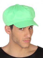 Cappello verde fluo Adulto