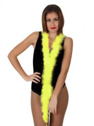 Boa marabù giallo 185 cm