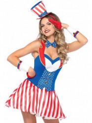 Costume da Americana sexy per donna