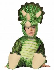 Costume triceratopo verde bebè