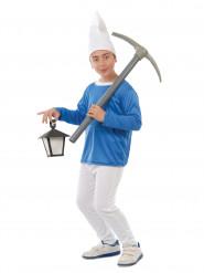 Costume da nanetto blu per bambino