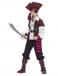 Costume pirata dei sette mari Bambino