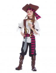 Costume pirata degli oceani bambina