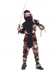 Costume ninja d'assalto Bambino