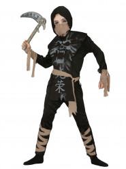 Costume ninja fantasma bambino