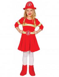 Costume da pompiere per bambina