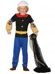 Costume marinaio muscoloso bambino