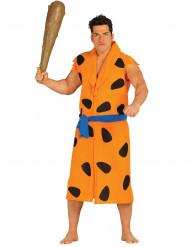 Costume uomo delle caverne arancione adulto