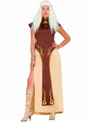 Costume regina del trono donna