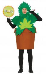 Costume pianta Cannabis Adulto