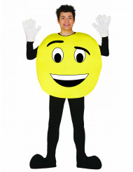 Costume émoticon personalizzabile adulto