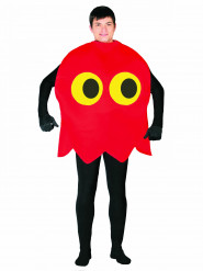 Costume pac-man rosso adulto