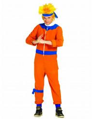 Costume maestro ninja arancione adulto