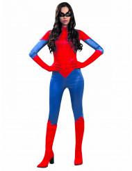 Costume ragno rosso donna