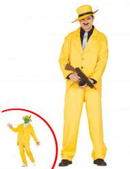 Costume gangster giallo Adulto