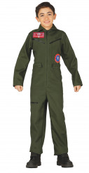 Costume tuta da pilota per ragazzo