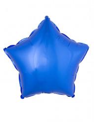 Palloncino in alluminio stella blu 45 cm