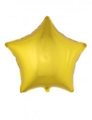 Palloncino in alluminio stella dorata