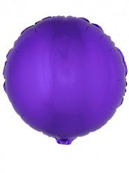 Palloncino in alluminio viola