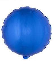 Palloncino alluminio blu 45 cm