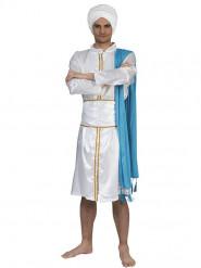 Costume da principe orientale bianco per uomo