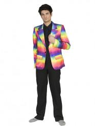 Giacca arcobaleno Adulto
