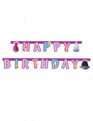 Ghirlanda Happy Birthday Trolls™ 1.9 metri.