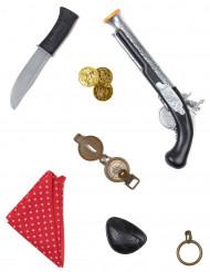 Kit di accessori in tema pirata per bambino