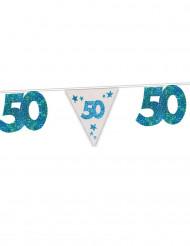 Ghirlanda blu  50  anni
