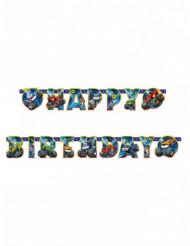 Ghirlanda Happy Birthday Blaze e le Mega Macchine™ 182 cm
