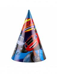 8 Cappellini da festa Blaze e le Mega Macchine™