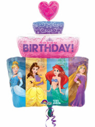 Palloncino alluminio dolce Principesse Disney™ 71 cm