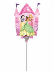 Palloncino in alluminio castello Principesse Disney™ gonfiato 33 cm