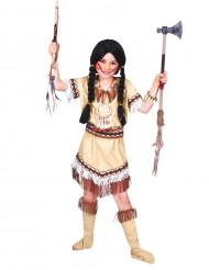 Costume indiana con frange bambina