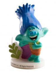 Candella di compleanno Branch Trolls™ 7.5 cm