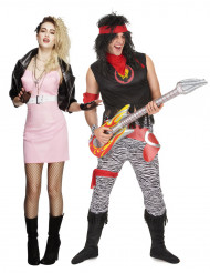 Costume coppia rocker retro adulta