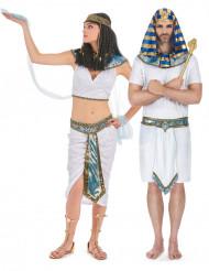 Costume coppia Egiziani blu adulti